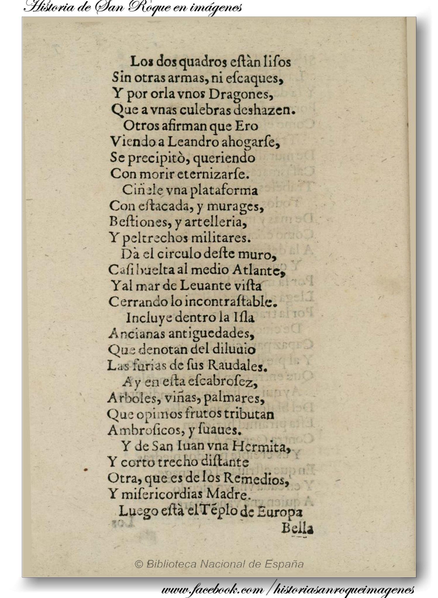 Fernando Pérez Pericón, 1636 | San Roque