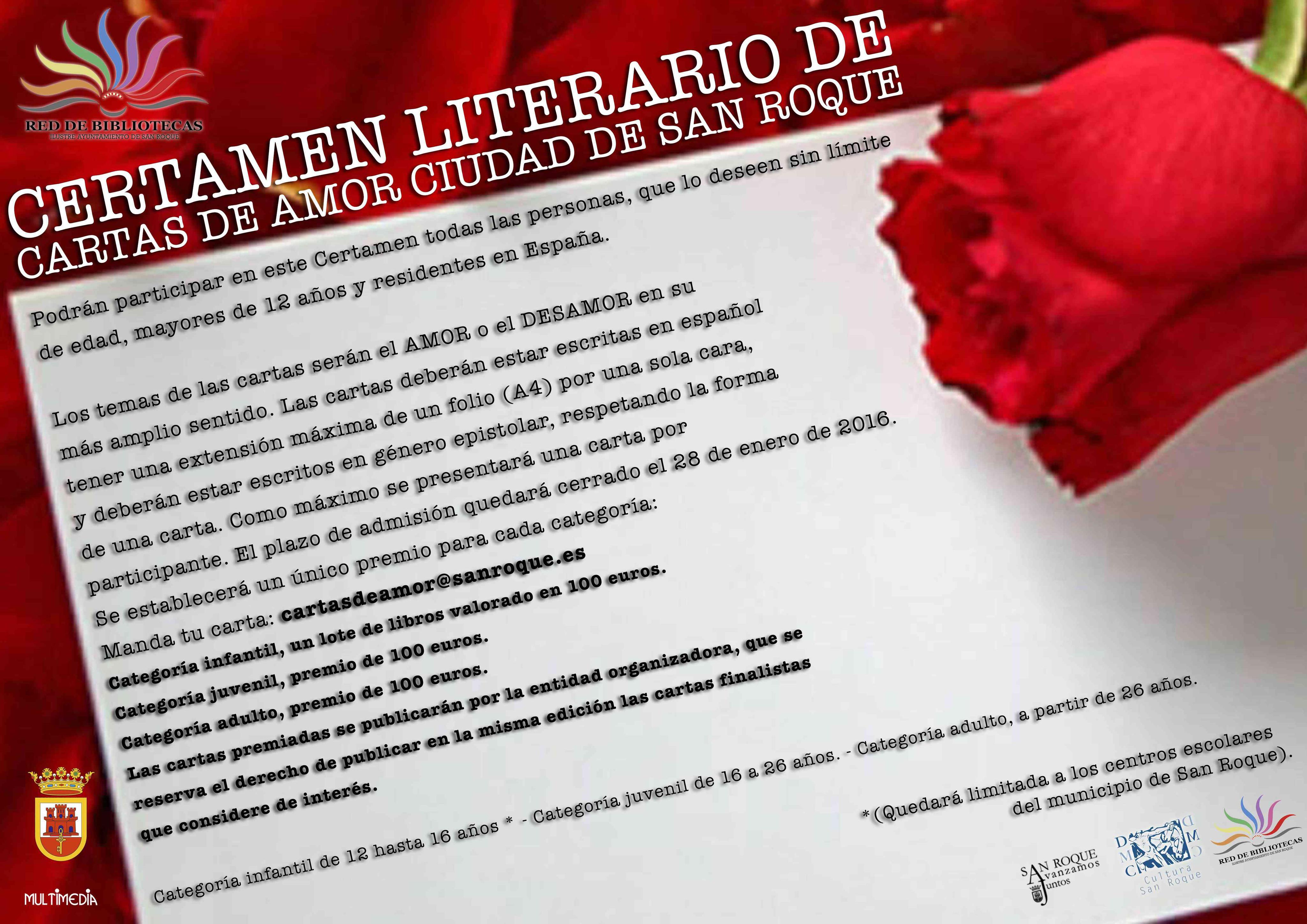 Bibliotecas prepara el Día de San Valentín con un certamen de Cartas ...