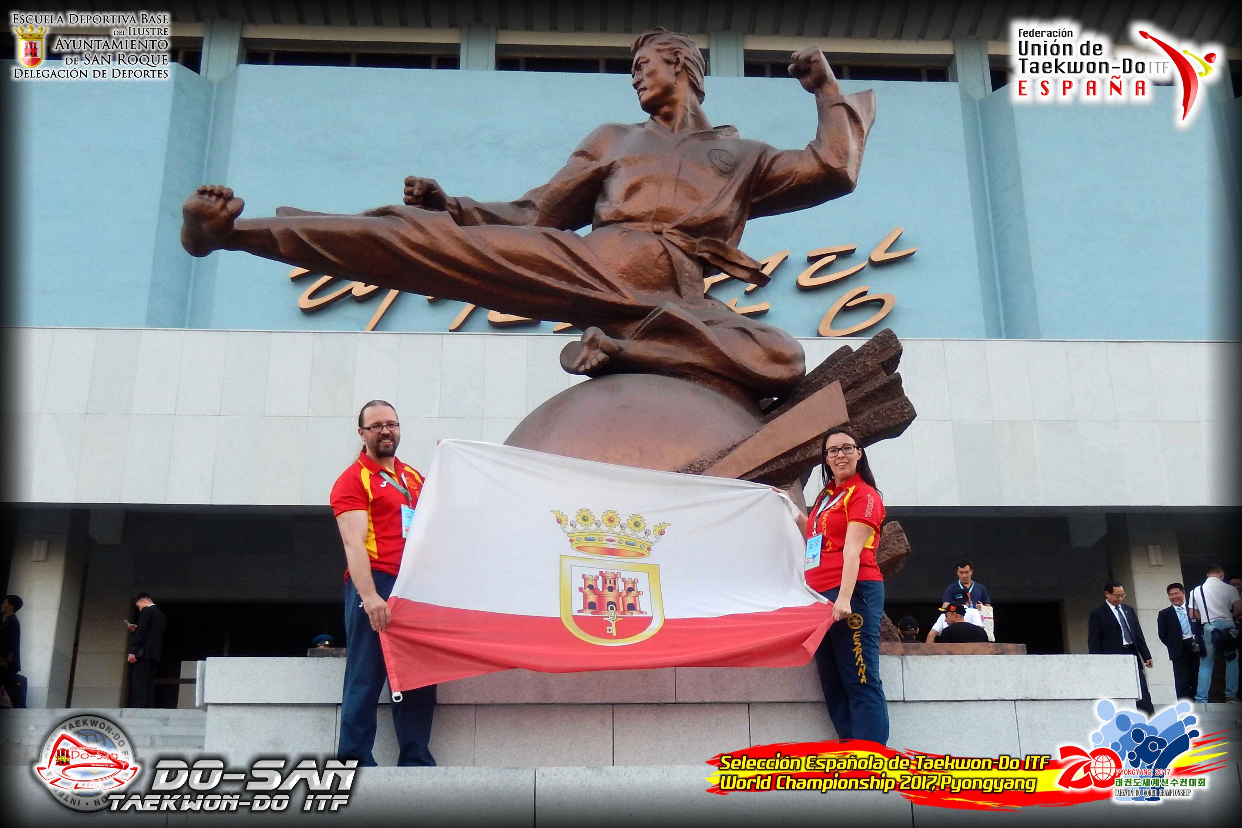 El C.D. Do-San reanuda sus clases de Taekwon-Do ITF | San Roque