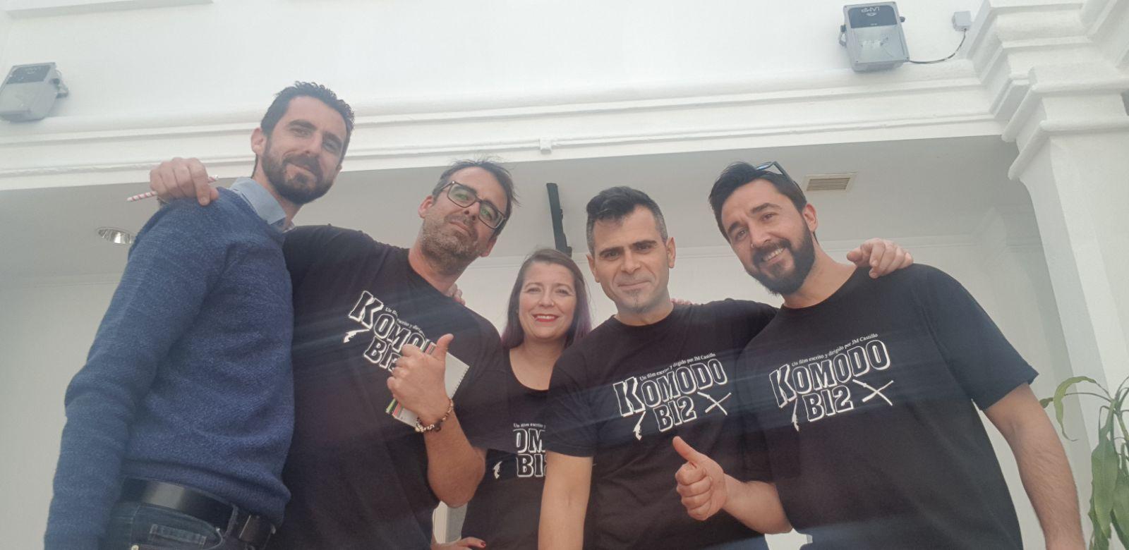 Colaboración municipal para el rodaje de Komodo B12 | San Roque