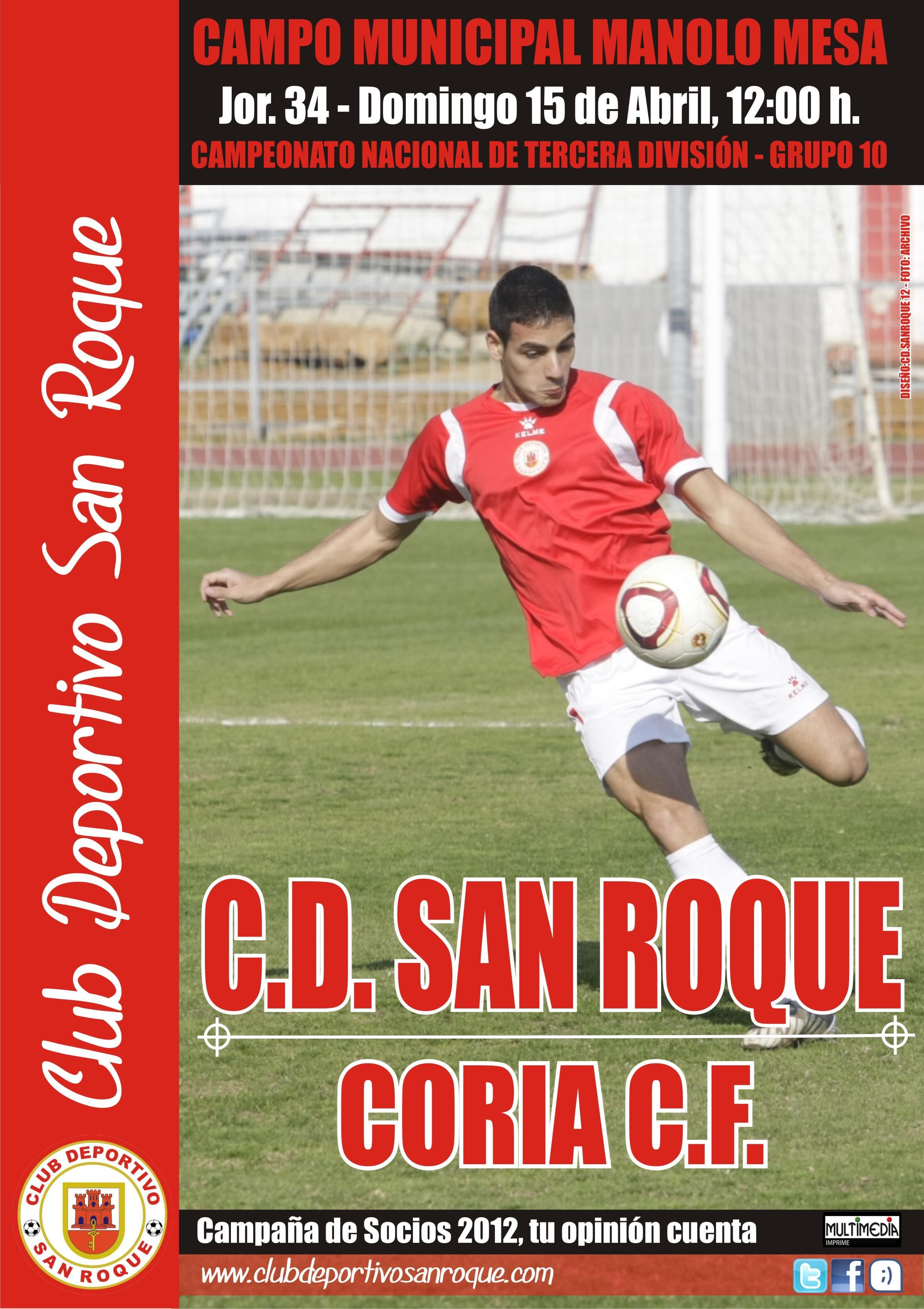 Fútbol Tercera División: El CD San Roque quiere seguir haciendo ...